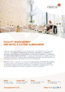 thumbnail of Nazca Facility Management per Hotel