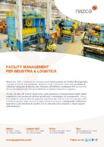 thumbnail of Nazca Facility Management per Industria & Logistica