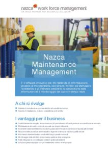 thumbnail of Nazca WFM_Maintenance Management_ita
