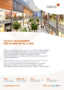 thumbnail of Nazca facility Management per Catene Retail & GDO